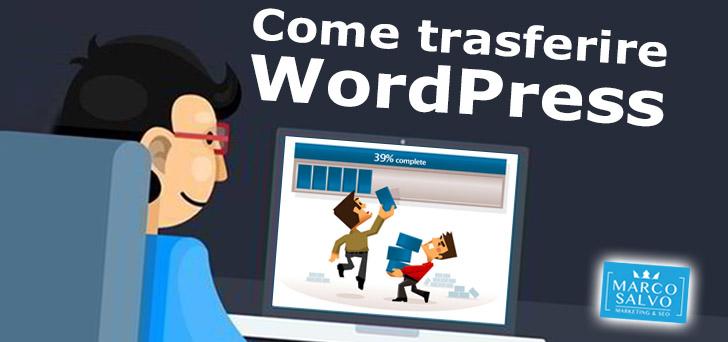 Come trasferire un sito WordPress da un server ad un altro 5
