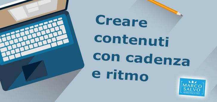 Creare contenuti con costanza 1