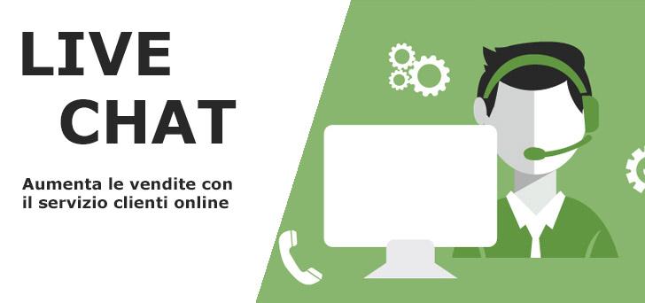 LIVE CHAT: Aumenta le vendite sin da subito con il servizio clienti online 19