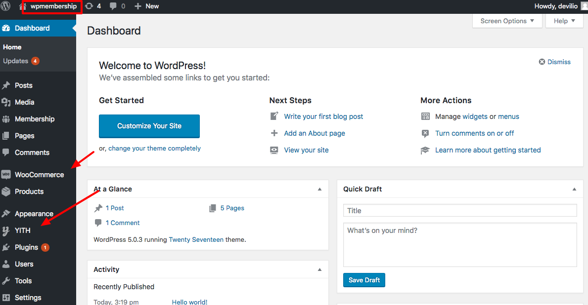 YITH Membership: Come vendere corsi online con WooCommerce 2