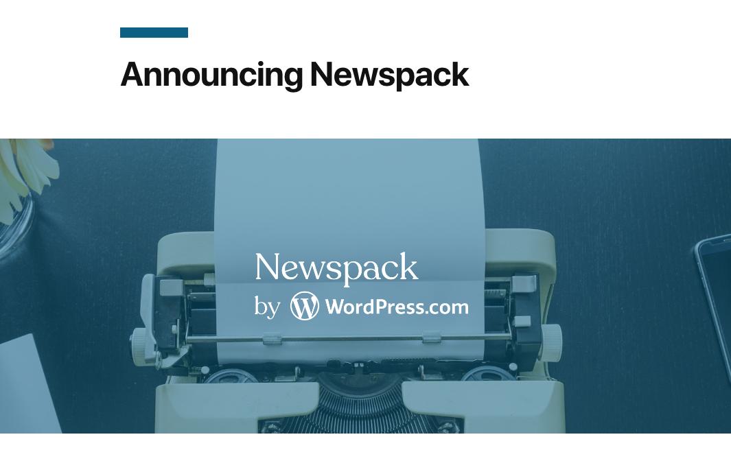 Newspack : Piattaforma di pubblicazione notizie 28