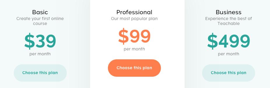 Teachable: Piattaforma per vendere corsi online 6