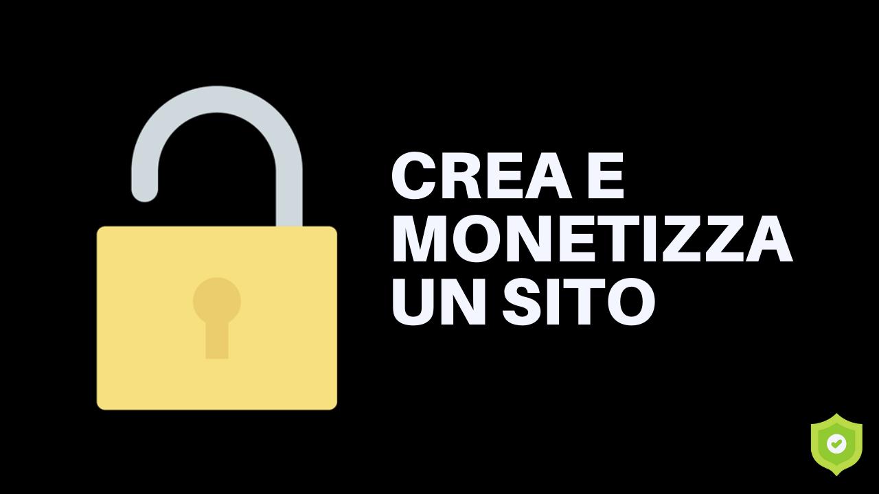 crea e monetizza un sito